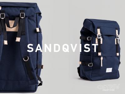 Sandqvist. Лаконичные рюкзаки и сумки из Швеции