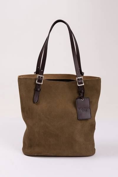 сумка filson dt tall rugged suede tote