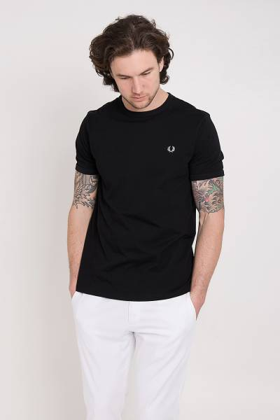 футболка fred perry ringer t-shirt