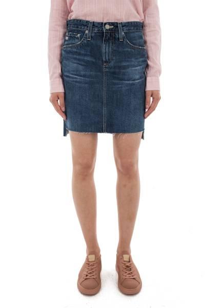 джинсовая юбка Adriano Goldschmied из хлопка