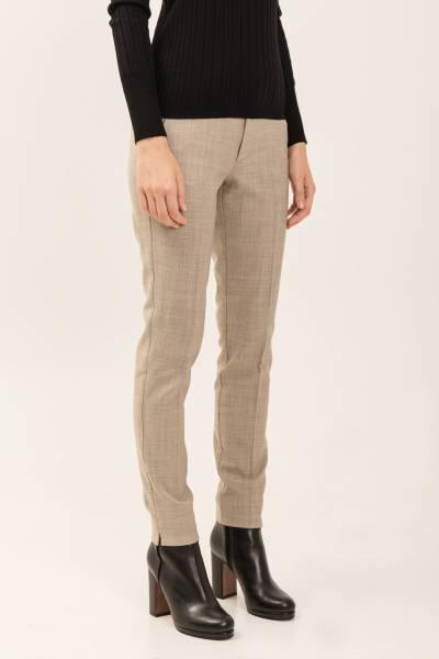 брюки Berwich из шерсти, полиэстера и эластана