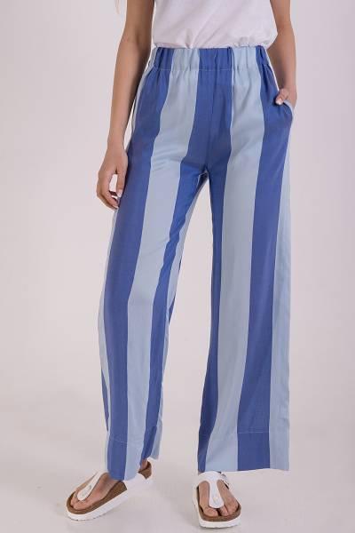 брюки xacus из вискозы и шелка