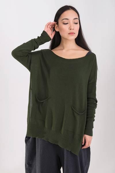 свитер ma`ry`ya зеленый