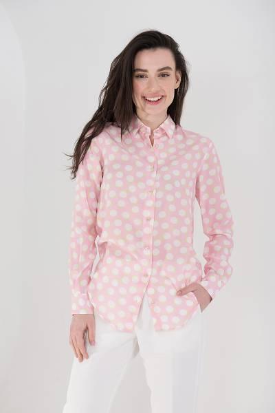 блуза xacus из вискозы