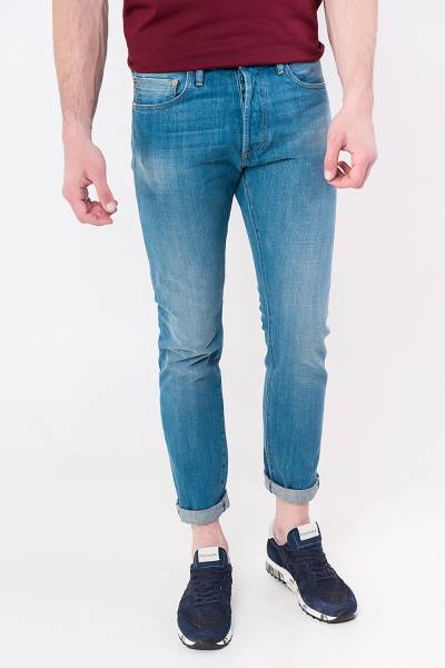 джинсы c.o.f. studio m7 tapered authentic blue