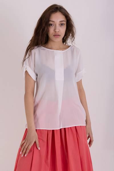футболка woolrich из шелка