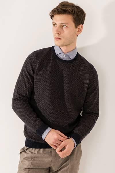 свитер Ferrante из шерсти, полиамида,вискозы и кашемира