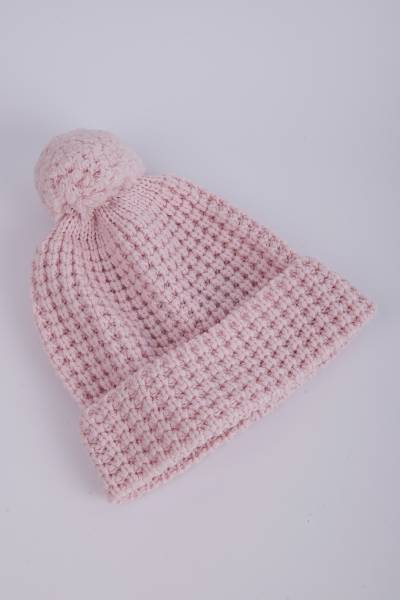 шапка johnstons of elgin waffle stitch hat