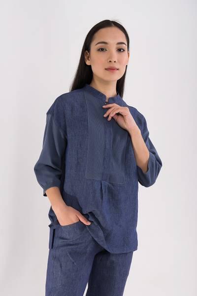 блуза tonet из льна