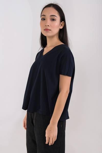 футболка ma`ry`ya синяя