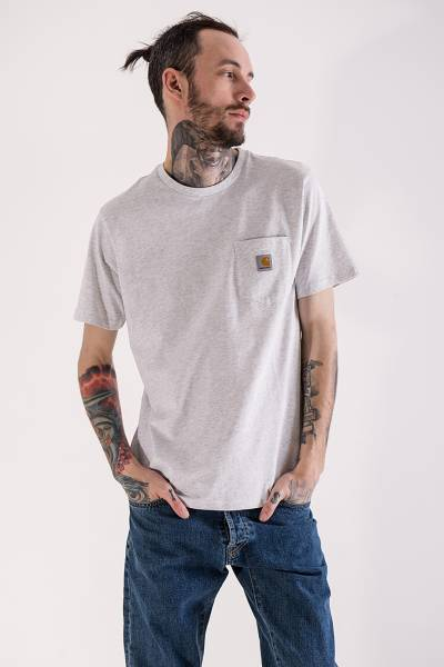 футболка carhartt wip pocket t-shirt