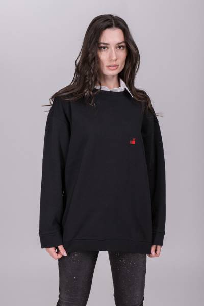 свитер woolrich w's fleece crew neck