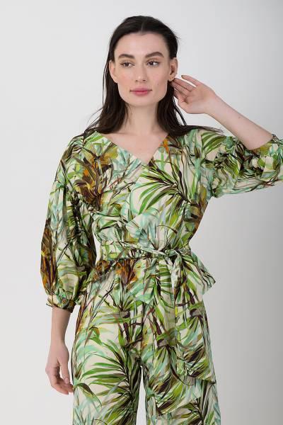 блуза xacus из хлопка