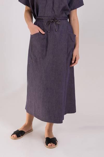 юбка tonet из льна