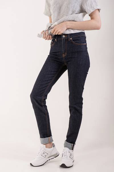 джинсы naked&famous high skinny 11oz stretch selvedge