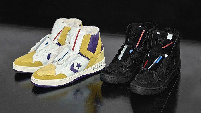 кроссовки от Converse и FACETASM