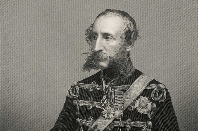 James Thomas Brudenell 7th earl of CARDIGAN  military, notably at the  battle of Balaklava during  the Crimea War1797 - 1868