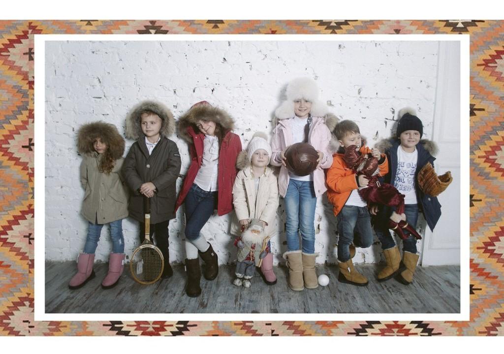 детская мода от woolrich