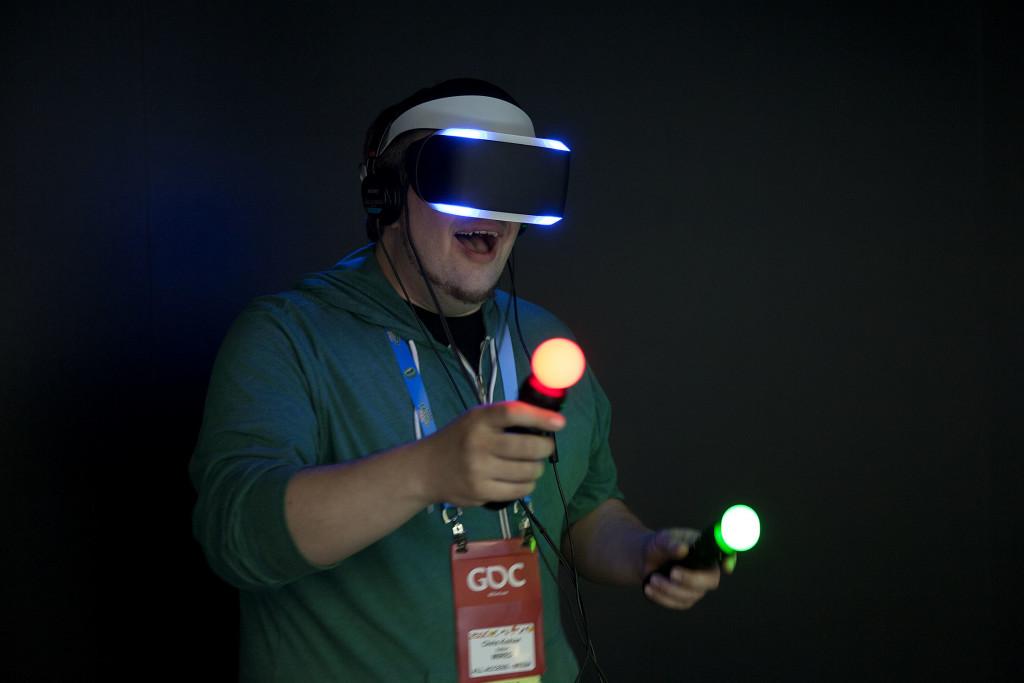 Презентация шлема виртуальной реальности Playstation VR