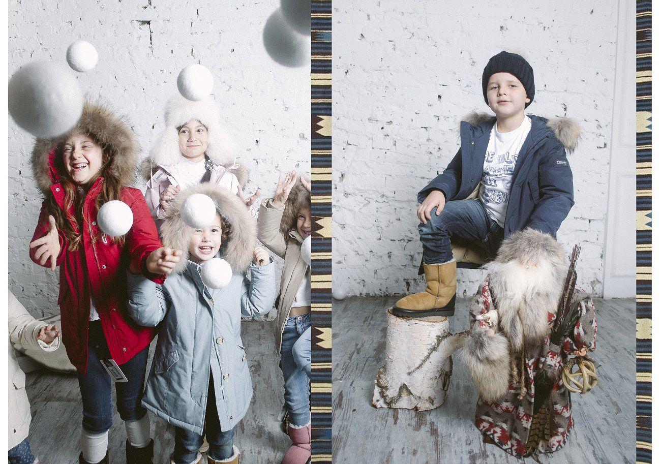 классные фото детей в журнале Ветер