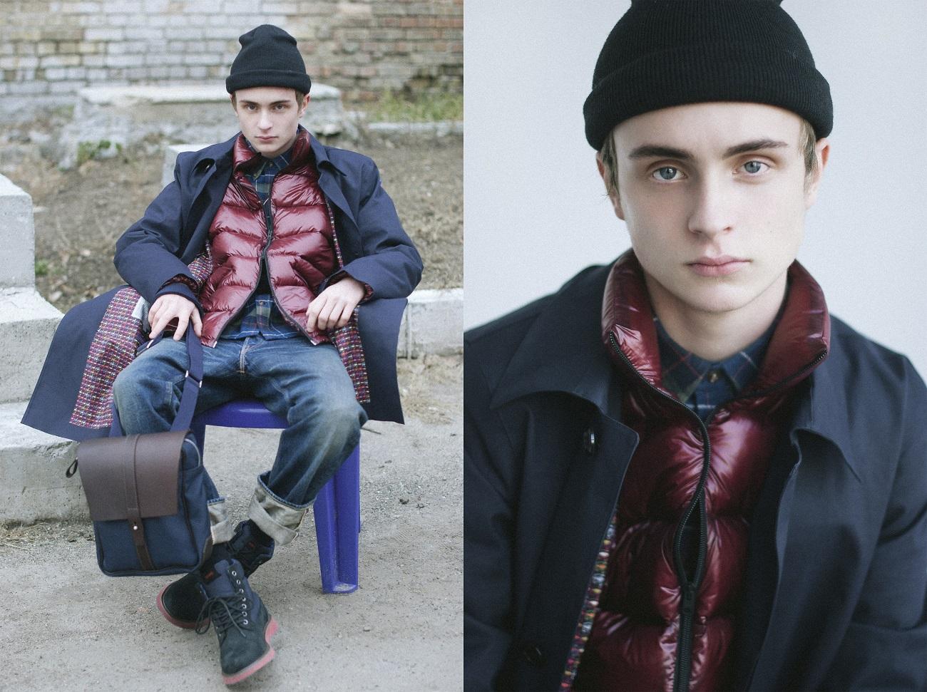 Veter magazine posted Ostriv MULTILAYERING fotoshoots