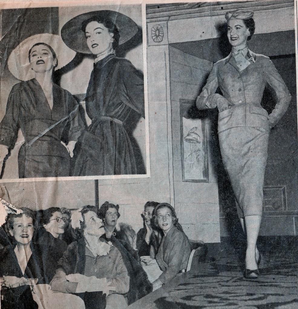 показ моды середины 20-го века