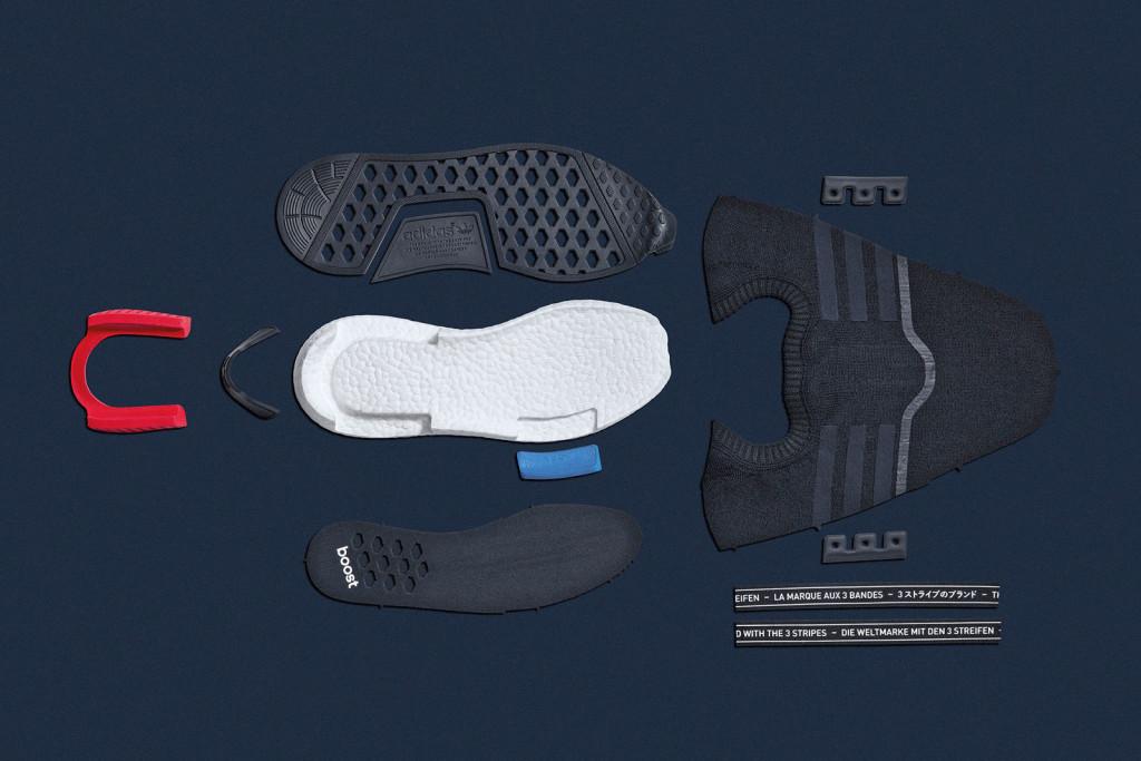 Adidas Originals NMD из чего сделаны кроссовки