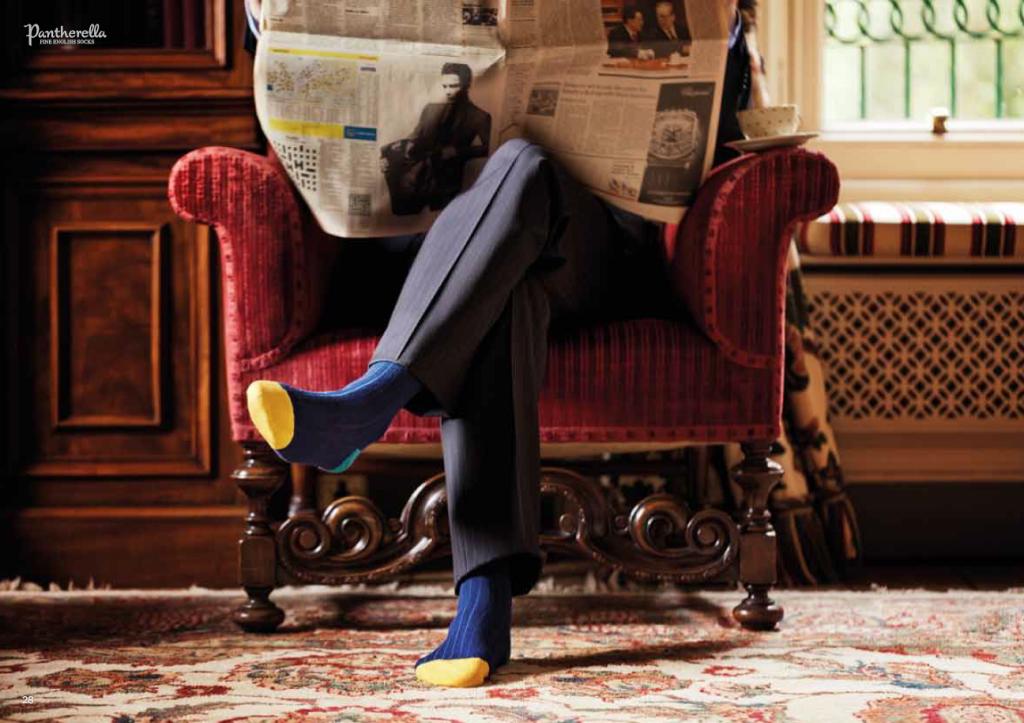 Яркие носки Pantherella