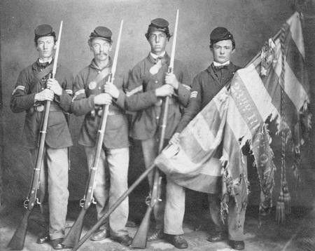 первые кепки 19-го века