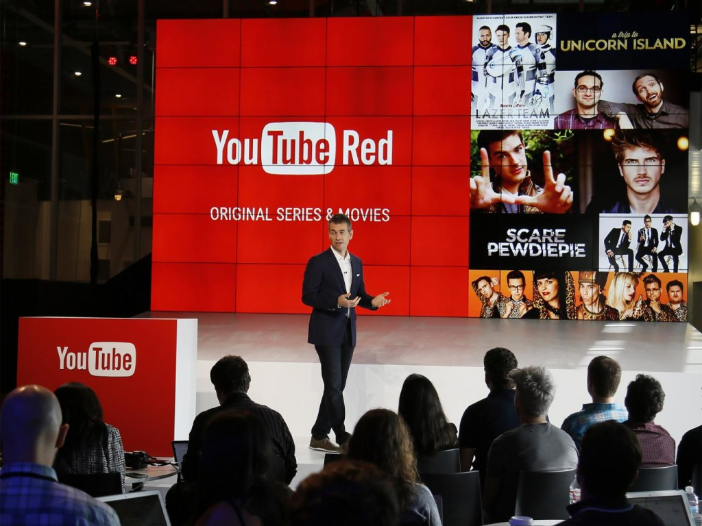 презентация youtube red
