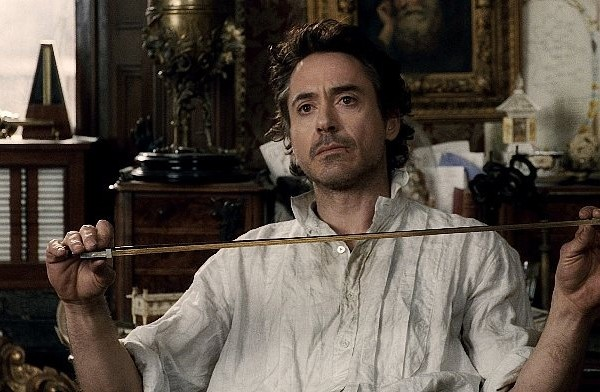 "SHH-FP-007 ROBERT DOWNEY JR. as Sherlock Holmes in Warner Bros. Pictures' and Village Roadshow Pictures' action-adventure mystery ""Sherlock Holmes,"" distributed by Warner Bros. Pictures."
