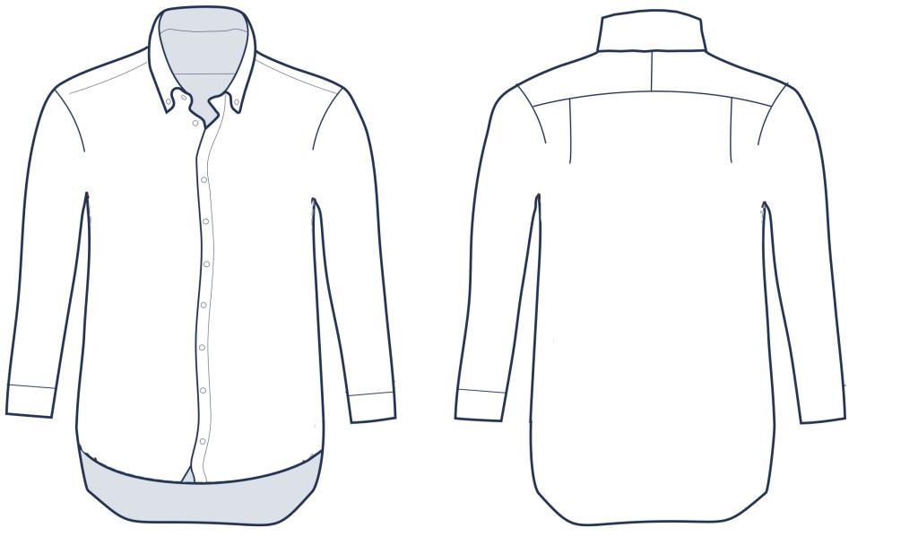 Casual Shirt_button down collar_CF